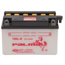 Battery YB6L-B 5.5Ah