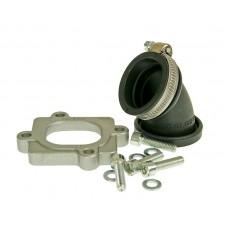 Inlet pipe Malossi MHR Viton 30mm - Minarelli horiz.
