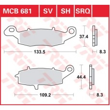 MCB681SV