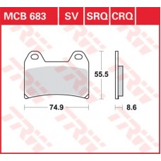 MCB683SV