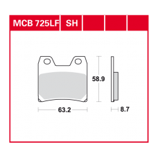 MCB725SH