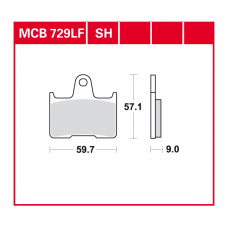 MCB729SH