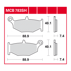 MCB783SH