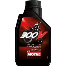 Oil Motul 300V 4T Factory Line Off Road 15W-60