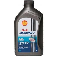Oil Shell Advance 4T Ultra 15W-50