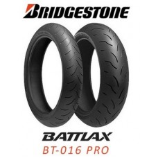 Tyre Bridgestone Battlax BT016 190/55 ZR17 075W