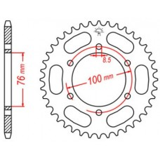 Rear sprocket Yamaha YZF125 Z48